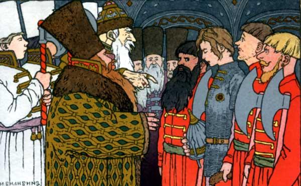 Пушкин ас сказка об иван-царевиче, жар-птице и сером волке